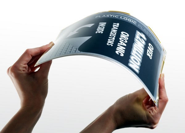 Plastic Logic flexible display