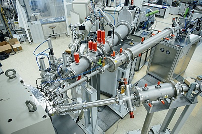 Ion Beam Center at HZDR: High energy Ion implantation (Picture: HZDR)